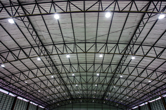 高天井用LED照明Nシリーズ設置イメージ