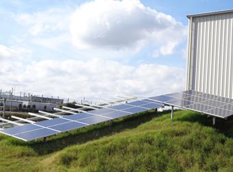 太陽光発電スチール+アルミ ハイブリット架台・スチール架台