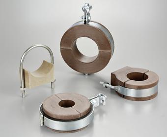ウレタン断熱配管支持金具