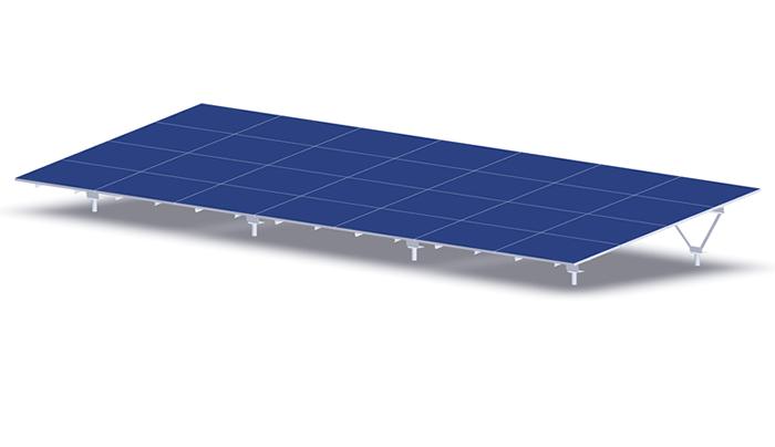 太陽光架台設置イメージ